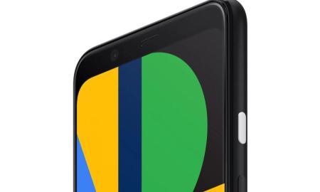Google Pixel 4 Stirn