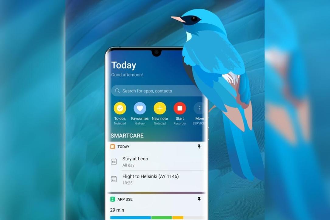 Huawei Assistant Vogel