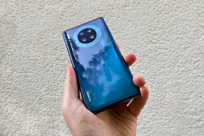Huawei Mate 30 Pro Blau Header