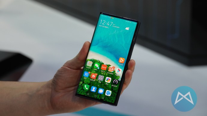 Huawei Mate X 5g Zugeklappt