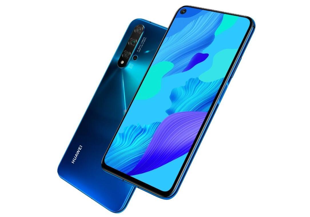 Huawei Nova 5t Blau