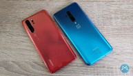 Huawei P30 Pro Und Oneplus 7t Pro Draufsicht 2