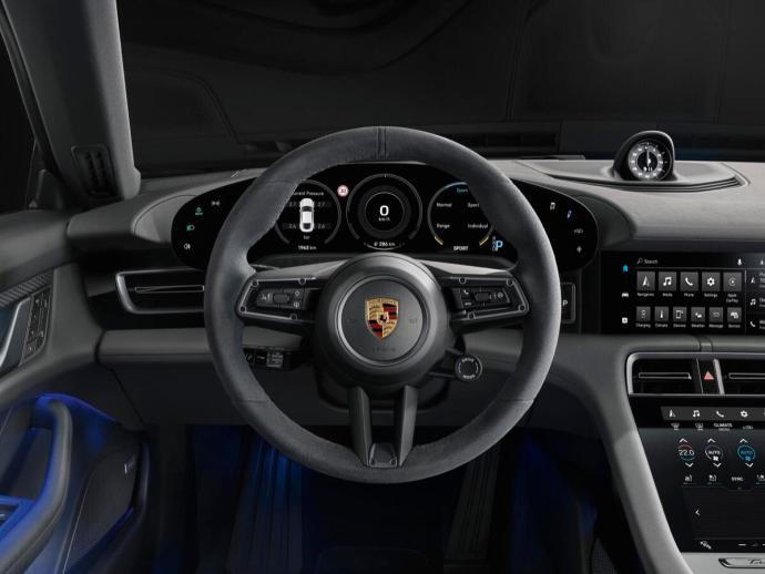 Porsche Taycan 4s Interieur