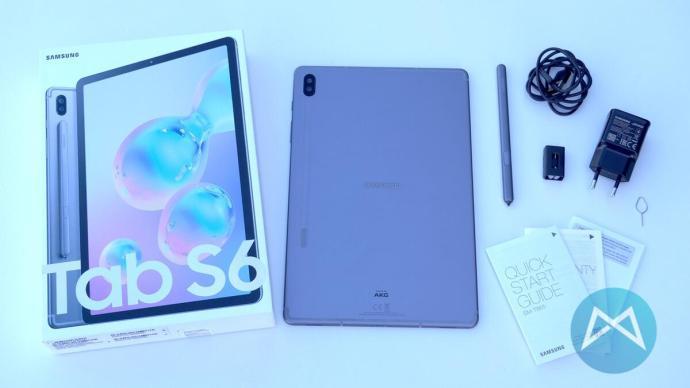 Samsung Galaxy Tab S6 Lieferumfang
