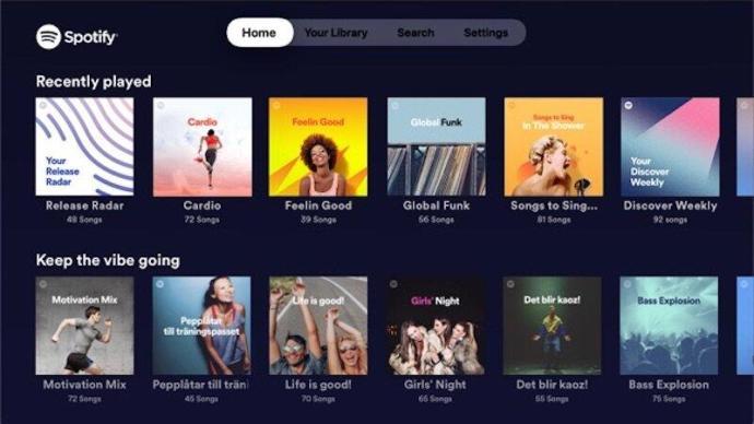Spotify Tvos
