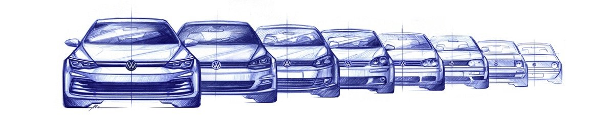 The All New Golf (design Sketch)
