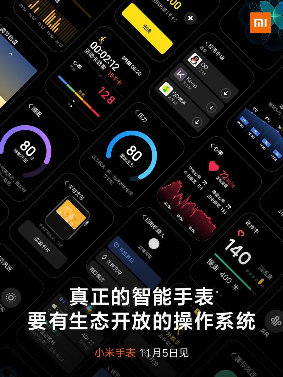 Xiaomi Mi Watch Os