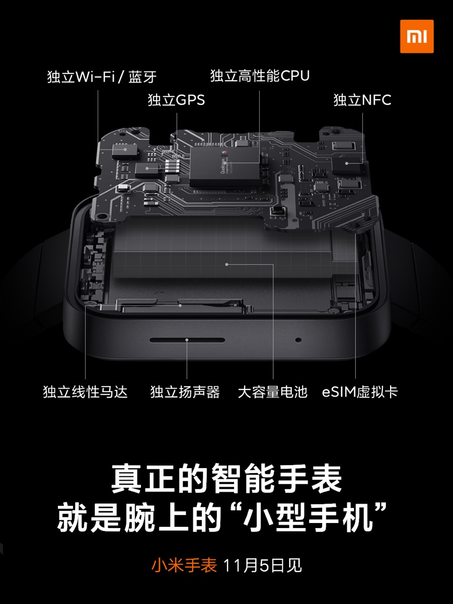 Xiaomi Mi Watch Specs