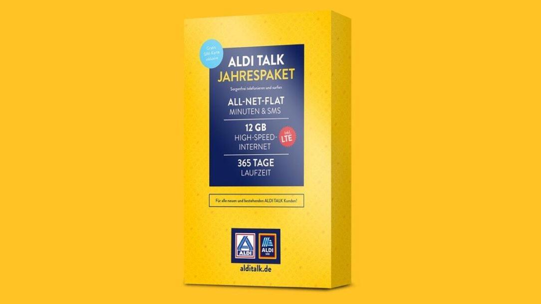 Aldi Talk Box Jahrespaket