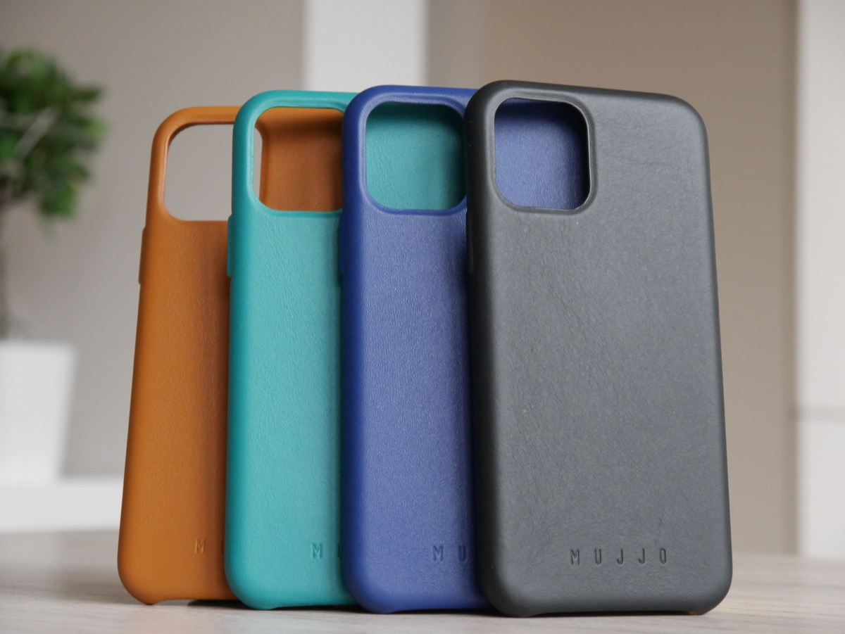 Apple Iphone 11 Pro Mujjo Leder Case Alle Farben 1