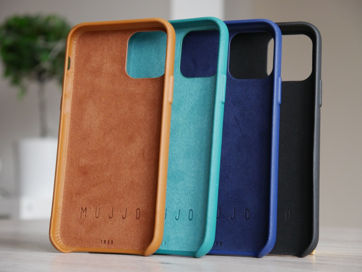 Apple Iphone 11 Pro Mujjo Leder Case Alle Farben 2