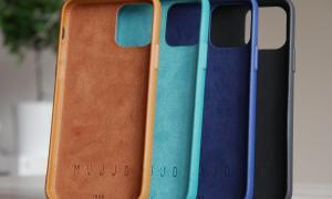 Apple Iphone 11 Pro Mujjo Leder Case Alle Farben 2