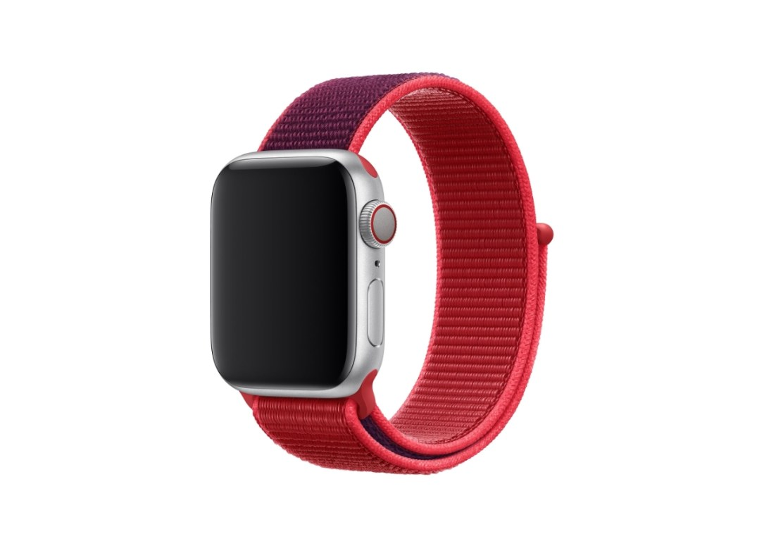 Apple Watch Sport Loop Product Red Rot