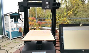 Creality Cp 01 Laser Engraver In Aktion