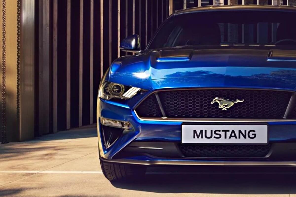 Ford Mustang Header