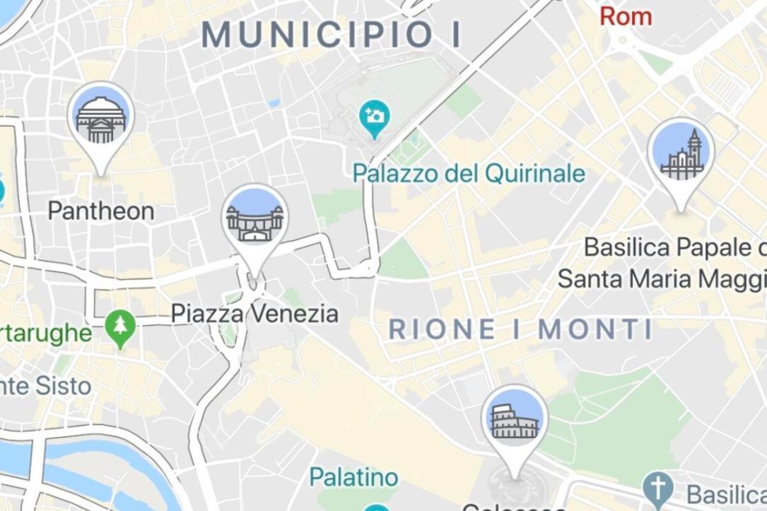 Google Maps Rom Icons