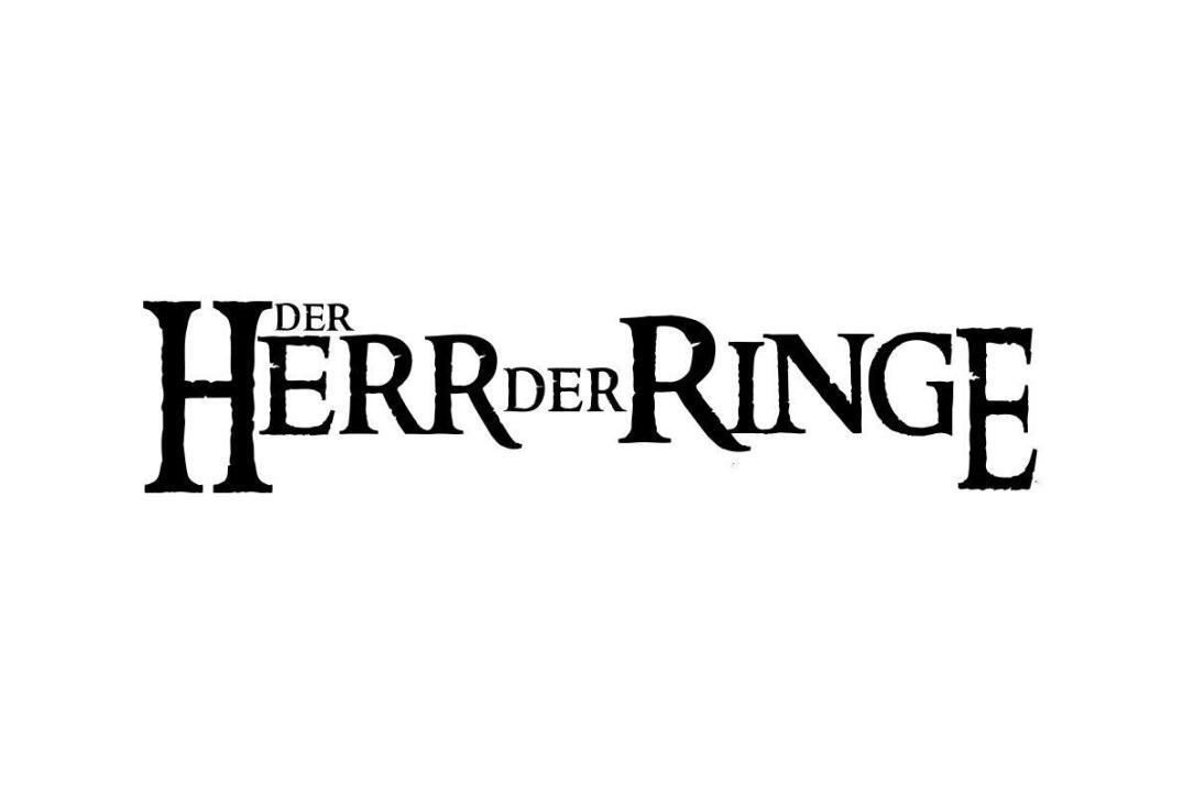 Herr Der Ringe Schriftzug Header