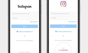 Instagram Facebook Branding