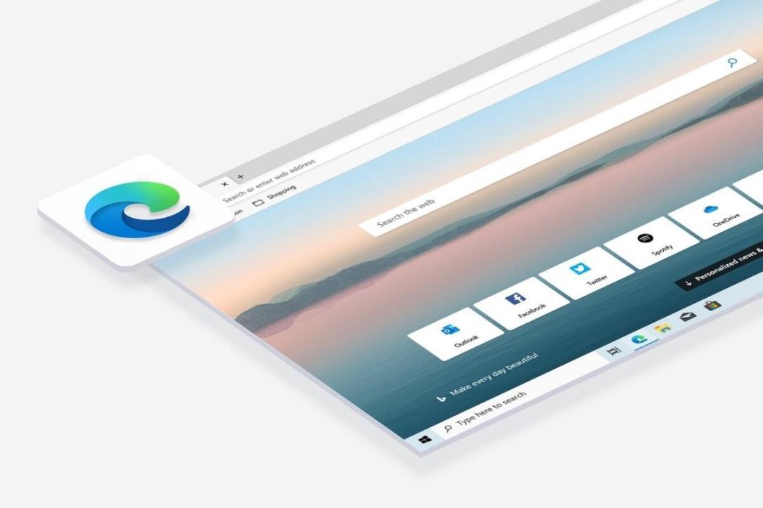 Microsoft Edge Header