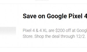 Pixel 4 Black Friday