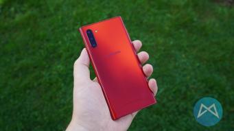 Samsung Galaxy Note 10 5g Aura Red