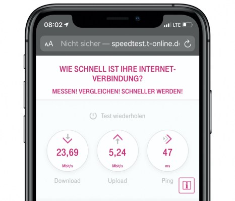 Telekom Speedtest