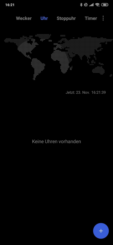 Xiaomi Mi 9t Pro Clock