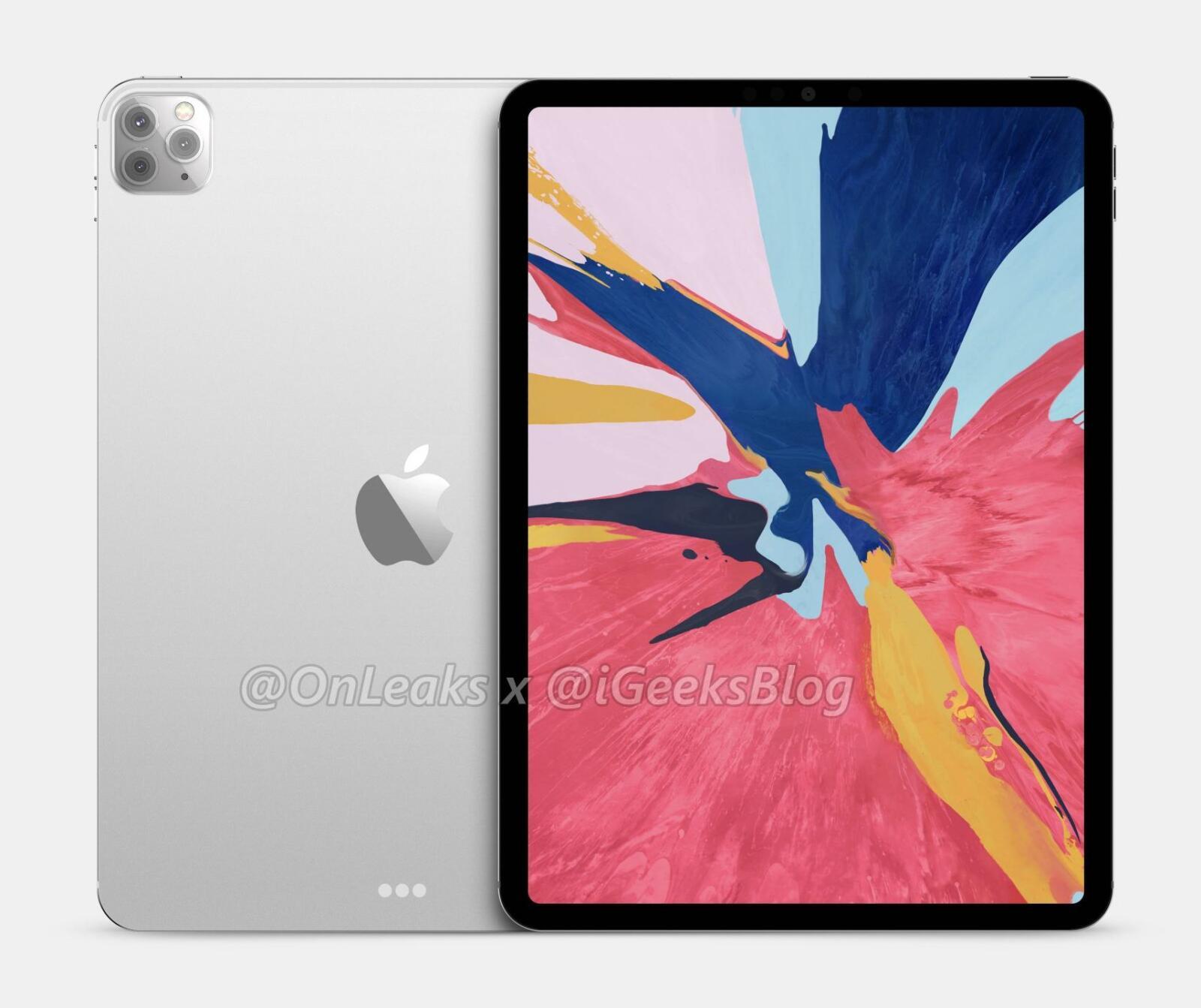 2020 11 Inch Ipad Pro With Triple Camera