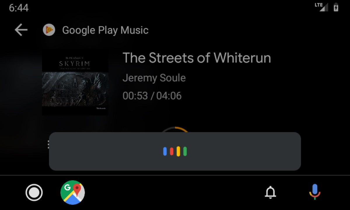 Android Auto Google Assistant Neu