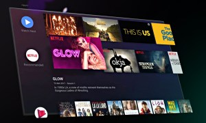 Android Tv Screen Header