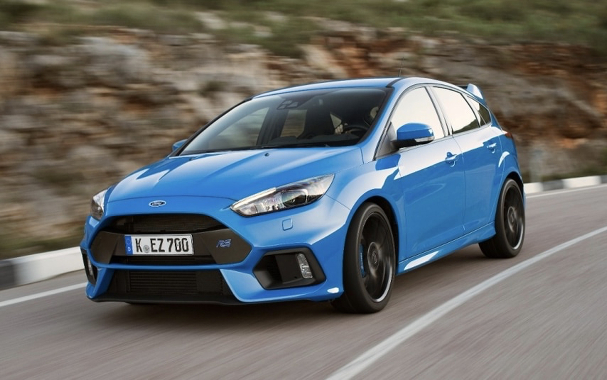 Ford Focus Rs Header