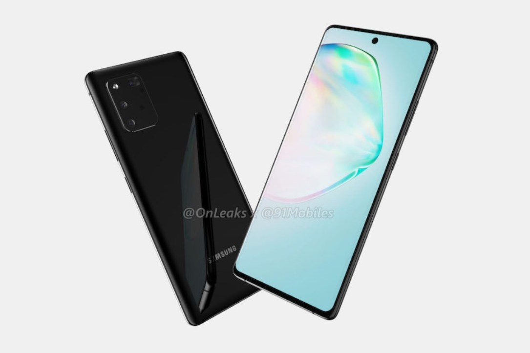 Samsung Galaxy A91 Render Leak