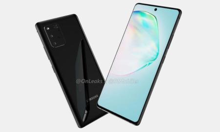 Samsung Galaxy A91 Render Leak