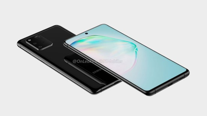 Samsung Galaxy A91 Render Leak3