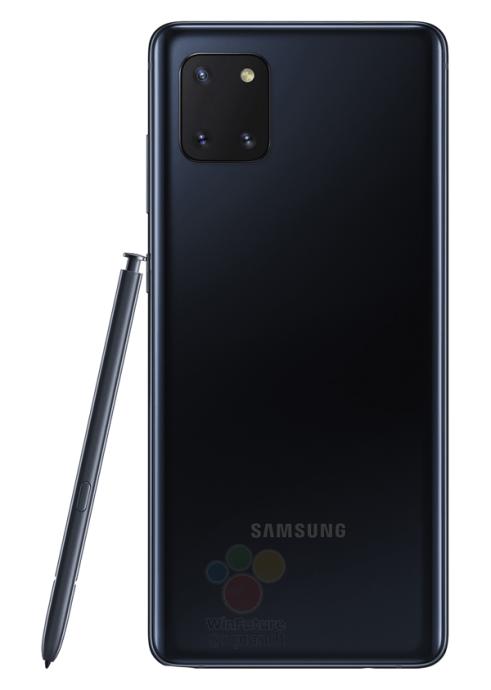 Samsung Galaxy Note 10 Lite Leak Schwarz