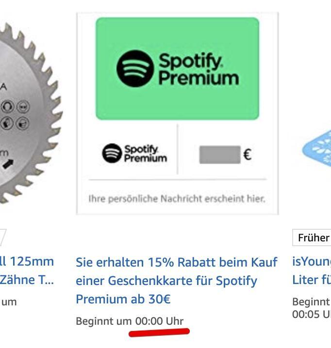 Spotify Premium Rabatt