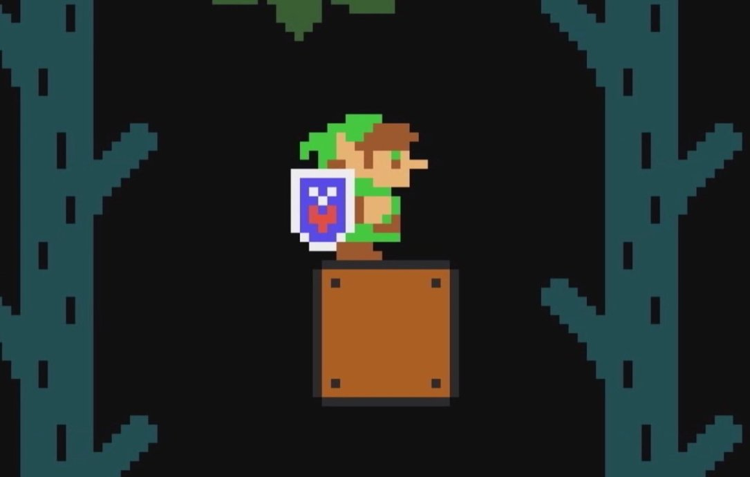 Super Mario Maker Zelda