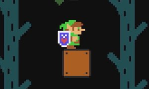 Super Mario Maker Zelda
