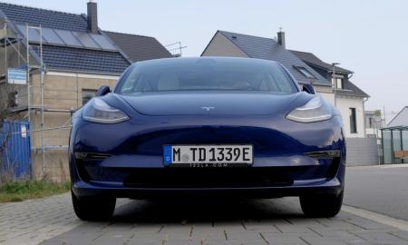 Tesla Model 3 Front Header
