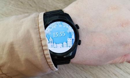 Ticwatch Pro 4g Lte Christmas Watchface