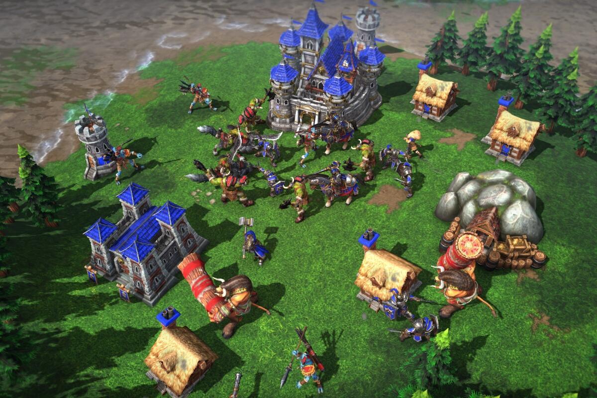Warcraft 3 Reforged Screen