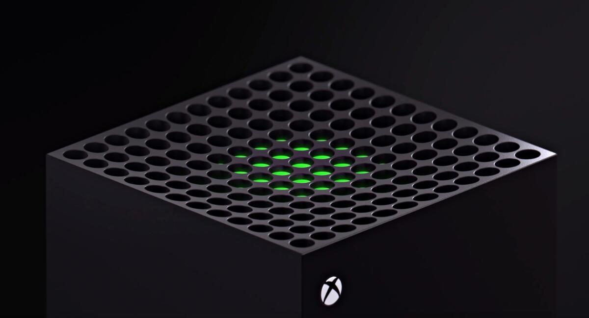 Xbox Series X Oben