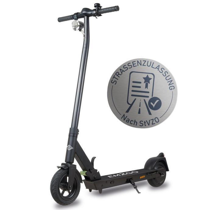 Escooter Mit Straßenzulassungssiegel
