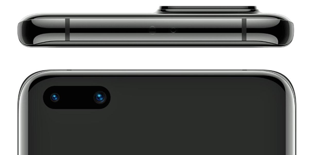 Huawei P40 Pro Dispaly Oben