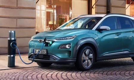 Hyundai Kona Elektro Laden