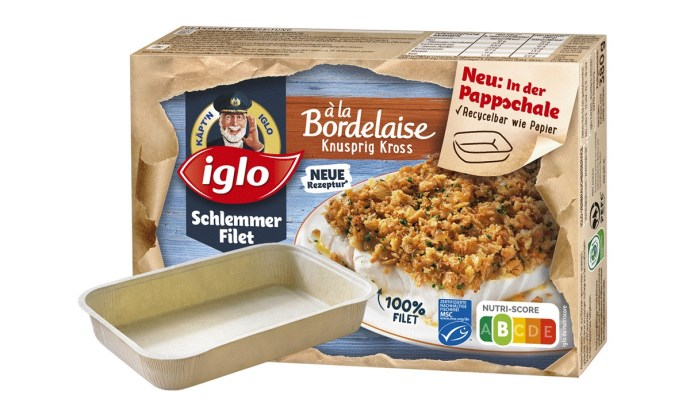 Iglo Schlemmer Filet Pappschale