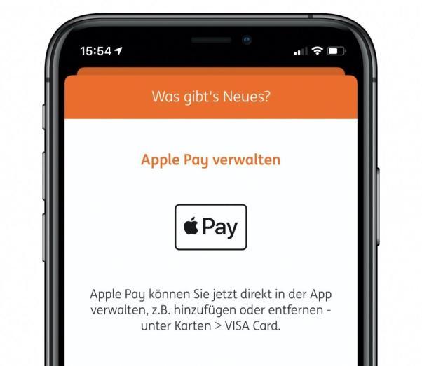 Ing Apple Pay App