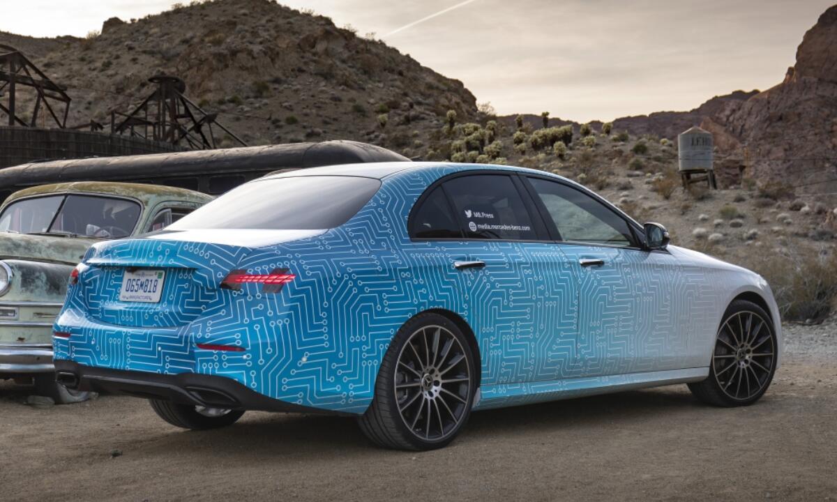 Mercedes Benz E Klasse 2020 Hinten