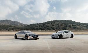 Mercedes Benz Eqs Prototyp Vergleich