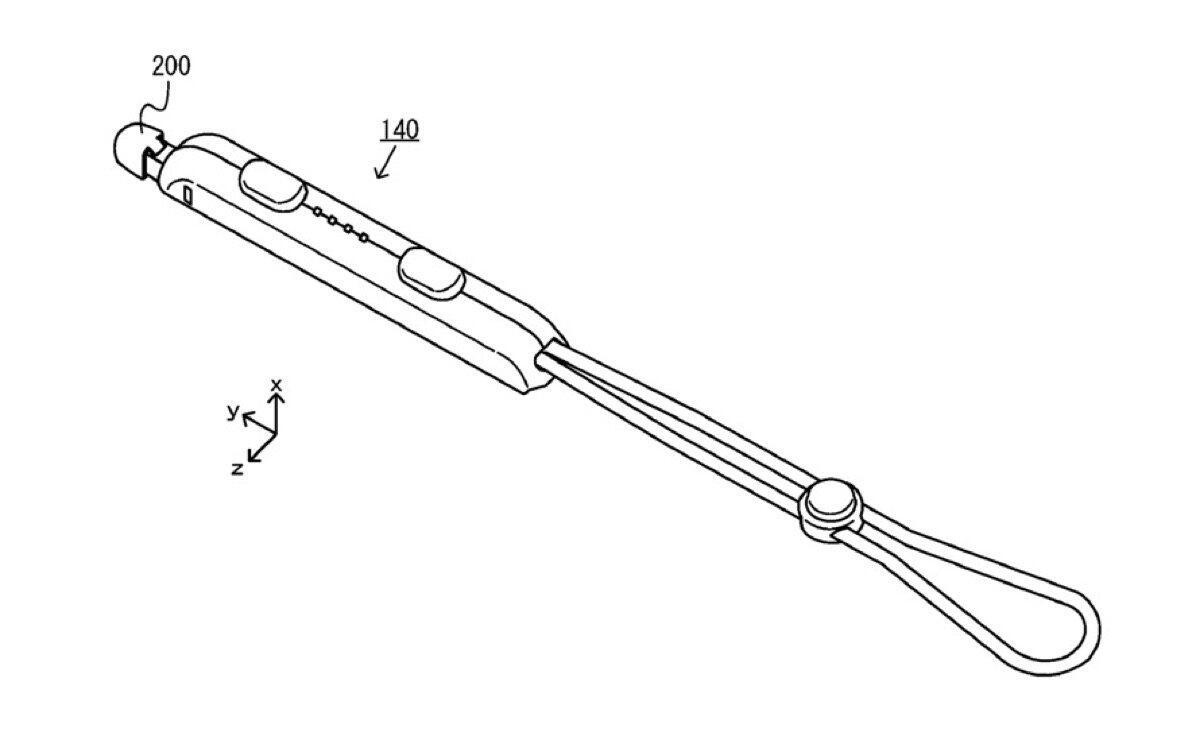 Nintendo Switch Joy Con Pen Patent